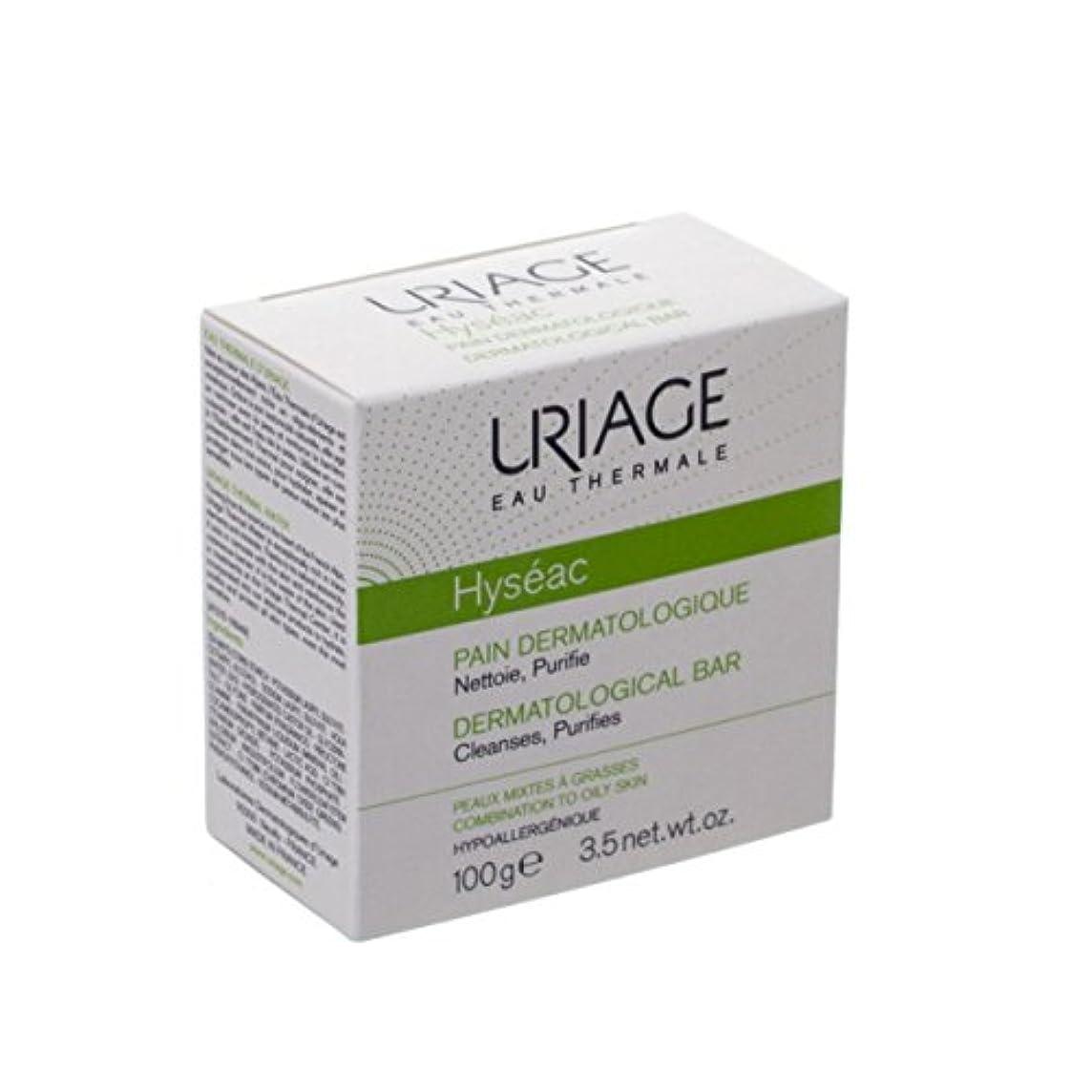 書誌剥ぎ取る床を掃除するUriage Hyseac Cleansing Bar 100g [並行輸入品]