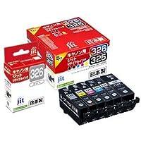 キヤノン インク Canon プリンターインク BCI-326+325/6MP 6色マルチパック対応 ジットリサイクルインクカートリッジ 日本製
