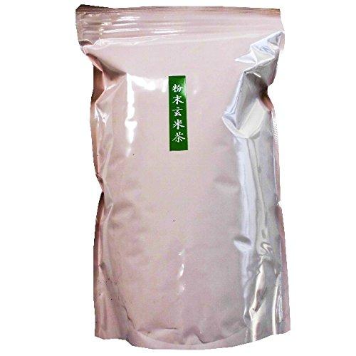 大和高原茶園 【大和茶】 粉末玄米茶 1kg 業務用