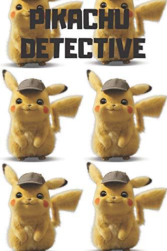 Pikachu Detective: Pokemon Notebook, Pikachu Detective Notebook, Pokemon Go, Best For Kids, Journal, Diary (110 Pages, Blank, 6 x 9)