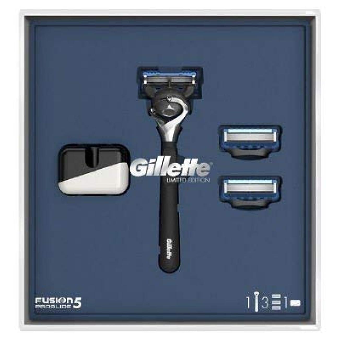 インスタンス賃金極めて重要な(ジレット)Gilette プログライド 髭剃り本体+替刃3個 オリジナルスタンド付き スペシャルパッケージ P&G