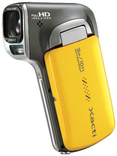 SANYO デジタルムービーカメラ Xacti CA100 Y イエロー DMX-CA100(Y)