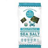 Honest Sea Roasted Seaweed Sea Salt Snack Multipack, Pack of 6 (30g)