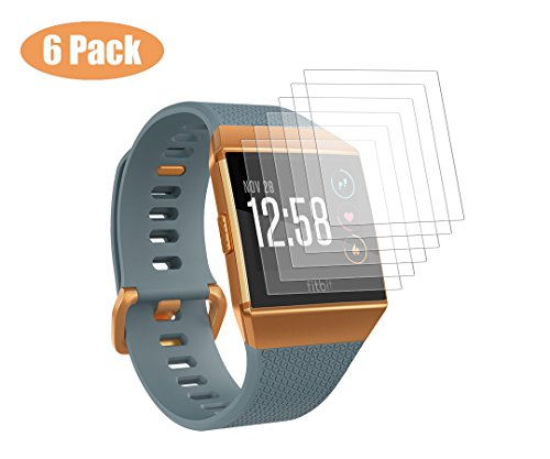 [해외]Kartice for Fitbit Ionic Screen Protector [6-PACK] 보호 필름 TPU 보호 필름 지문 99 % 높은 투과율 얇은 필름 (6-PACK)/Kartice for Fitbit Ionic Screen Protector [6-PACK] Protective film TPU Protective film Anti fingerprint 99% High tr...