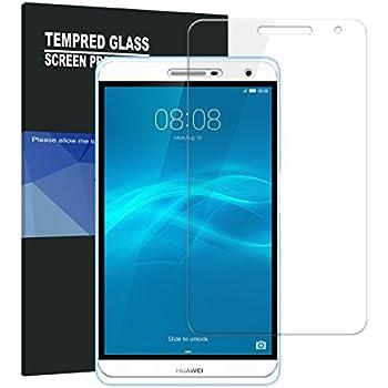 TopAce 液晶保護フィルム 硬度9H 超薄0.33mm 2.5D Mediapad T2 7.0 Pro専用 強化ガラス