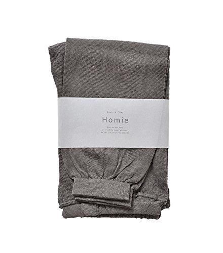 (ホミー)Homie コットンリネンサマーレギンス M-L チャコール hl-002-m-l-charcoal