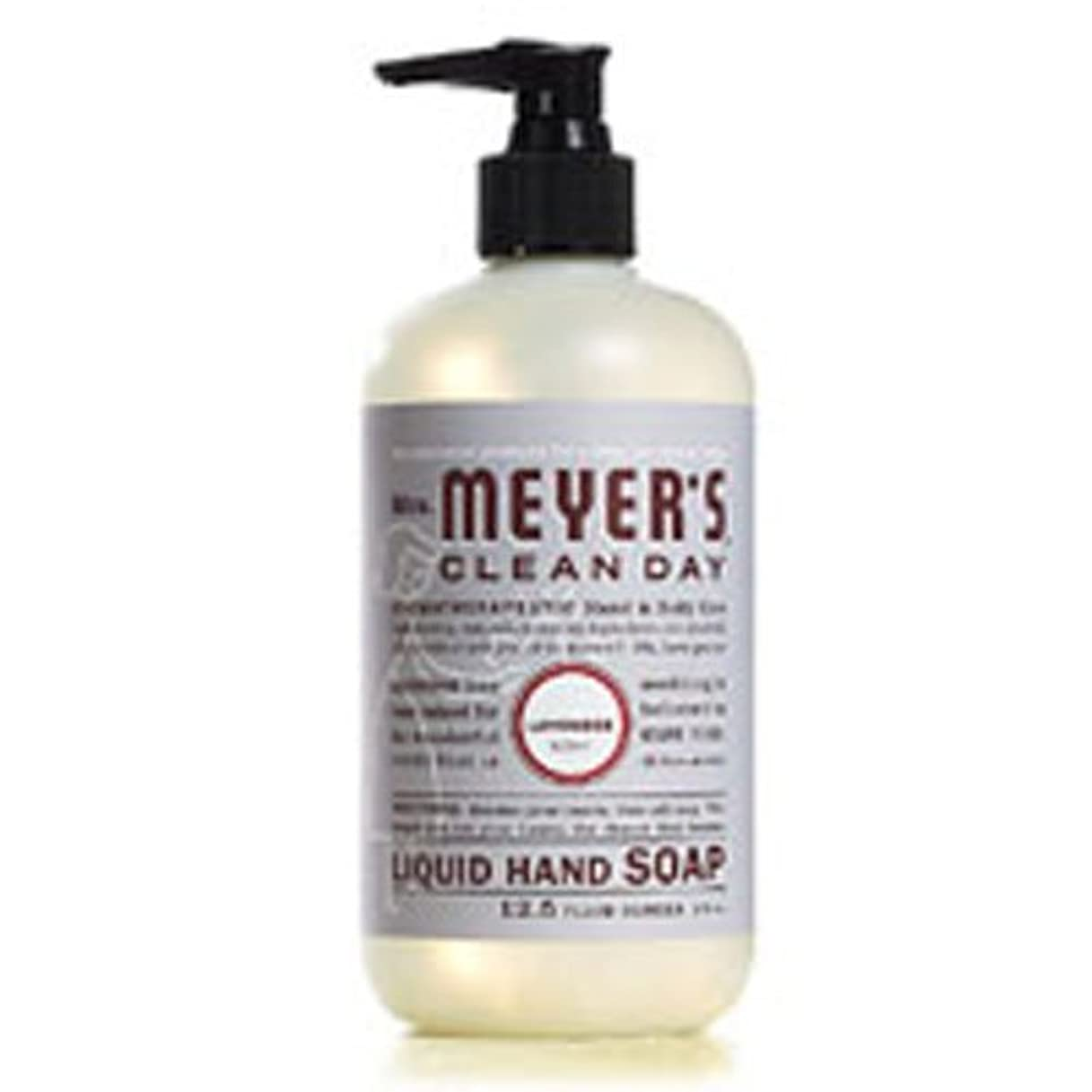 不一致病弱恩恵Lavender Liquid Hand Soap, 12.5 Ounce [Set of 2] by Mrs. Meyers