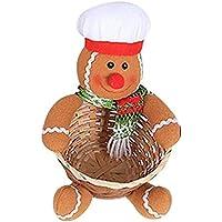 YideaHome クリスマス かご キャンディーかご 収納ボックス クリスマス飾り サンタクロース バスケット 小物入り お菓子入り 雑貨収納 可愛い バスケット 多機能