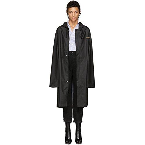 (ヴェトモン) Vetements レディース アウター Black Logo Raincoat [並行輸入品]