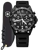 [ビクトリノックス・スイスアーミー] VICTORINOX SWISS ARMY 腕時計 FIELDFORCE SPORT CHRONO Black Edition (フィールドフォーススポーツクロノ) 241926.1 クォーツ [国内正規品]