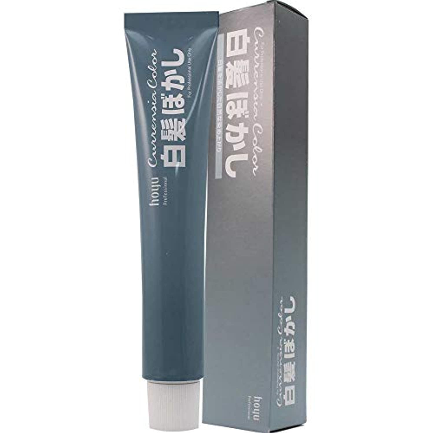 つかの間取り除く調停するホーユー カレンシアカラー 80g 白髪ぼかし 1剤 (ブルーグレー)