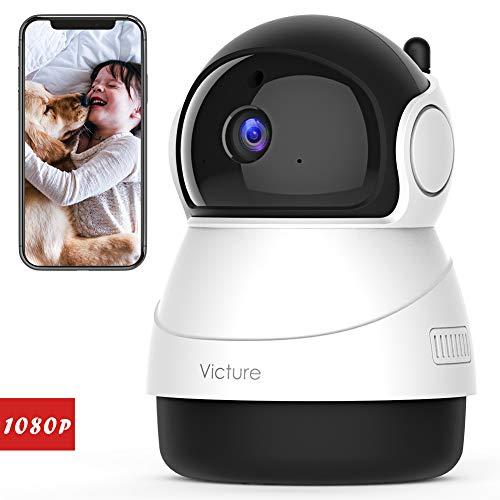 Victure 1080P FHD 200万画素 ネットワークカメラ WiF...