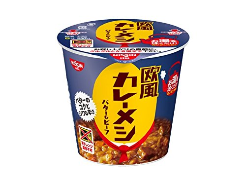 日清欧風カレーメシ バター&ビーフ 103g×6個