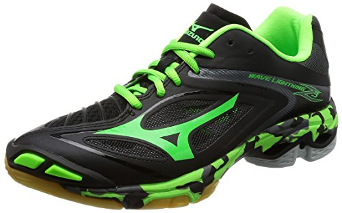 purple and green mizuno volleyball shoes 2019