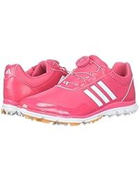 (アディダス) adidas レディースゴルフシューズ?靴 Adistar Lite Boa Real Pink/Footwear White/Real Gold 5 (22cm) B - Medium