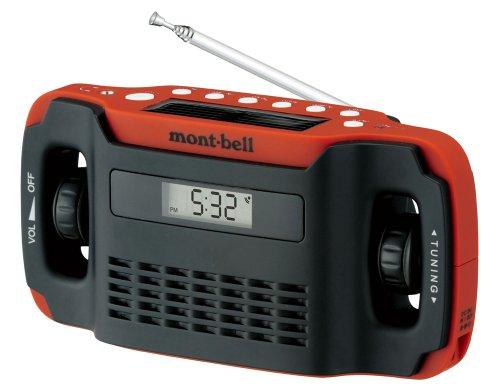 モンベル ラジオ H.C.5way マルチラジオ オレンジブリック
