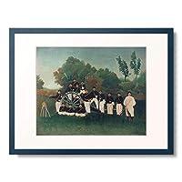 アンリ・ルソー Henri Julien Félix Rousseau 「The artillerymen. About 1895」 額装アート作品