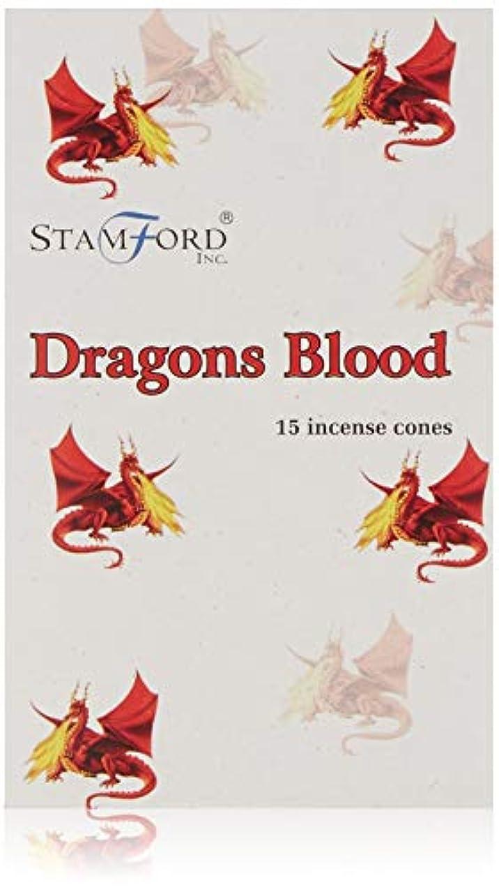 確立します驚いた人生を作るDragons Blood Incense Cones Stamford 15s