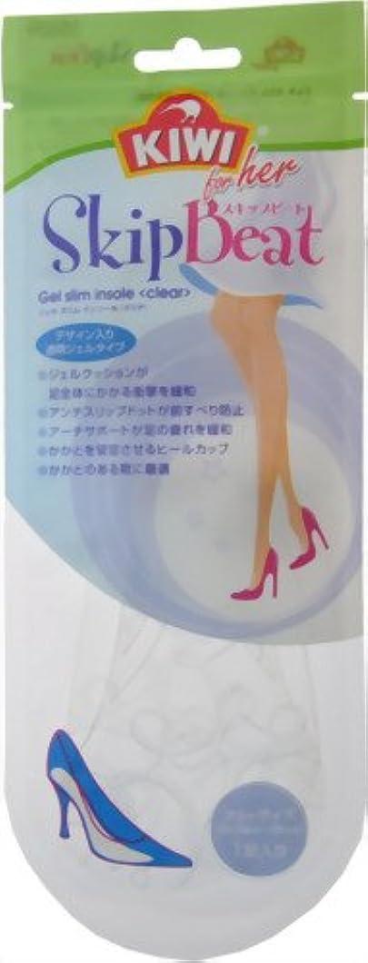 仮装接地日記KIWI ジェルスリムインソール <クリア>