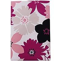プリント 敷き布団カバー花柄 シングルロングサイズ 347632-E342