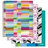 Office Depot ©ブランドファッションStellarノートブック、8インチx 101/ 2インチ、大学ルールド、穴あき、Assorted Designs ( noデザインChoice)、