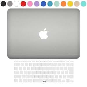 MS factory MacBook Air 11 ケース + 日本語 キーボード カバー ハードケース 全13色カバー RMC series マックブック エア 11.6 インチ Early 2015 対応 マット加工 クリアホワイト 半透明 RMC-SETA11MCL
