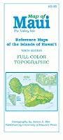 Map of Maui: The Valley Isle (Reference Maps of the Islands of Hawai'i)