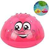 スプリンクラーボールのおもちゃ、子供のためのライト付きウォータースプラッシュボールのおもちゃ幼児入浴時間、理想的なバスのおもちゃ夏のプールのおもちゃ