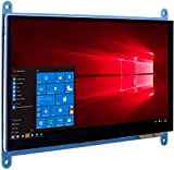 Kuman 7インチ Raspberry Pi用ディスプレイ LCD 1024*600解像度 タッチスクリーン TFTモニタ Raspberry Pi 4 3 2 Model B B+ A A+ 用ディスプレイ ラズベリーパイ SC7B