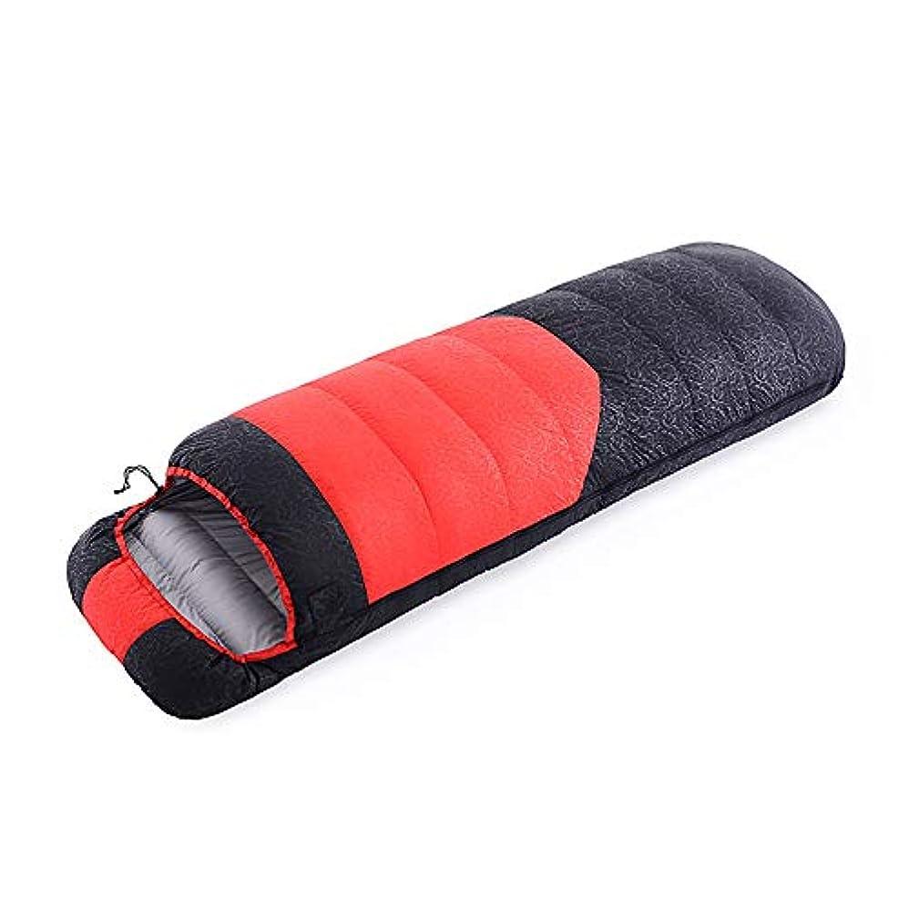 シャイニング歌手引退した寝袋屋外のポータブル大人の寝袋屋内ランチ休憩ハイキングガチョウ寝袋四季の大人になることができます