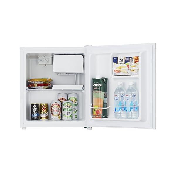 ハイセンス 冷凍冷蔵庫 HR-A42JWの紹介画像3