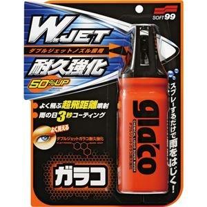 (まとめ) ソフト99 ダブルジェットガラコ耐久強化 180ml G-64 1本 【×5セット】