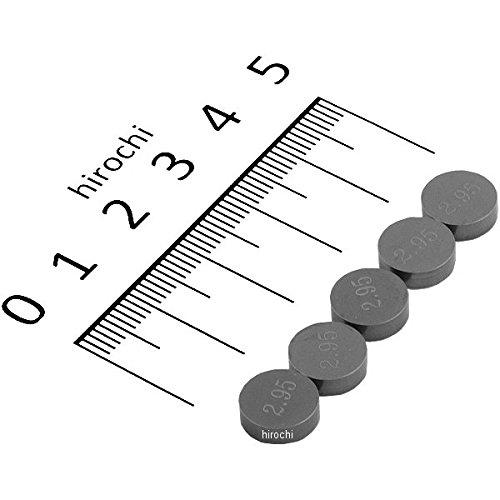 [해외]와이세코 Wiseco 바루부시무 9.48mm x 2.95mm 5 개들이 167343 VS9295/Wiseko Wiseco Valve Shim 9.48 mm x 2.95 mm 5 pieces included 167343 VS9295