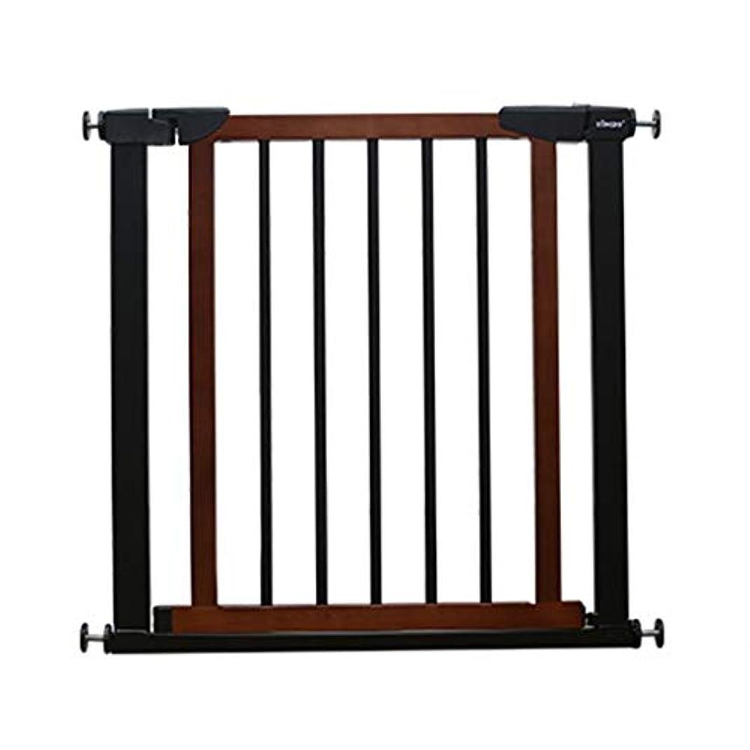 根拠協同パズル育児 ベビーゲート 赤ん坊の門、ペットゲート安全扉の金属の拡張可能な赤ん坊のペット安全扉の自動閉鎖を通って歩きます ベビーフェンス (Size : Width 75-82cm)