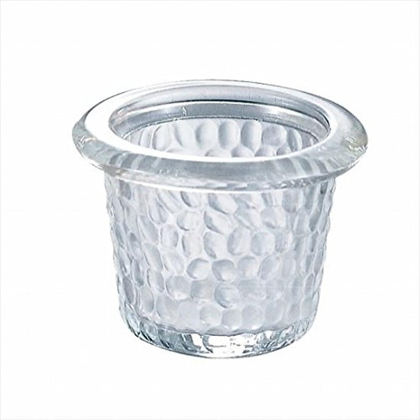 背骨噴水うめき声カメヤマキャンドル(kameyama candle) ハンマードグラスライトハウス 「 クリア 」6個セット