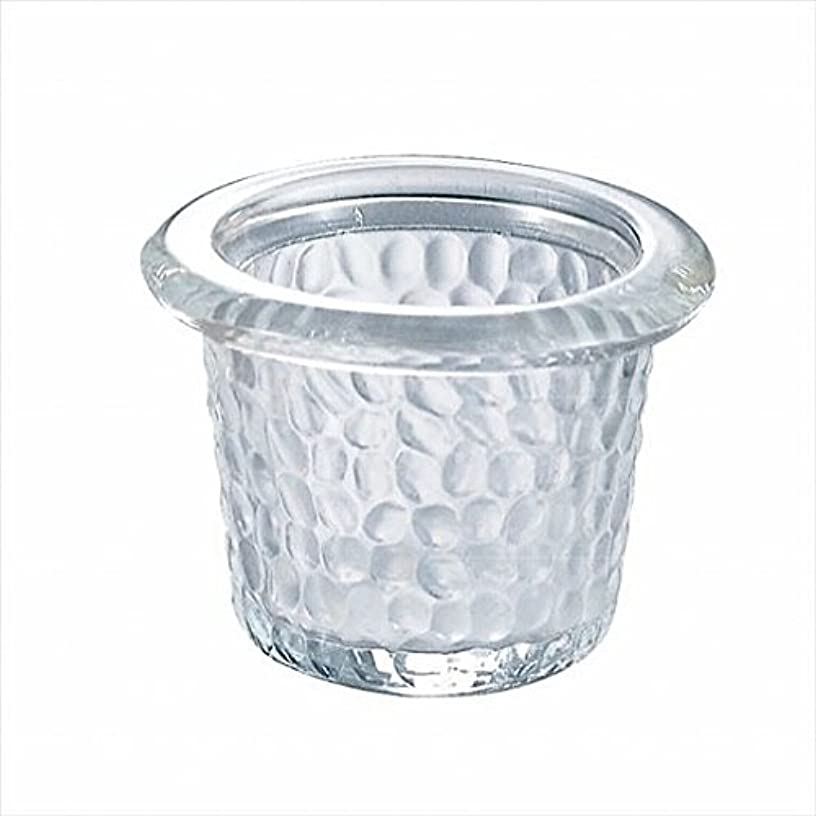 雄大なむちゃくちゃ影響カメヤマキャンドル(kameyama candle) ハンマードグラスライトハウス 「 クリア 」6個セット
