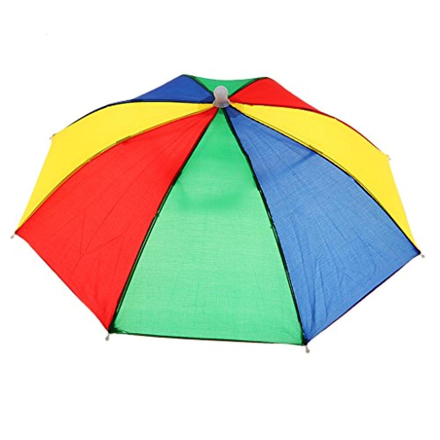 小さい敵対的チャネルDYNWAVE 子供 傘帽子 釣りキャンプ 傘ハット ビーチ ヘッドウェア 日焼止め フリーサイズ