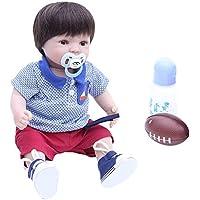 Baoblaze 40cm リアル ビニール製 赤ちゃん人形 衣装付き リボーンドール人形 女の子人形