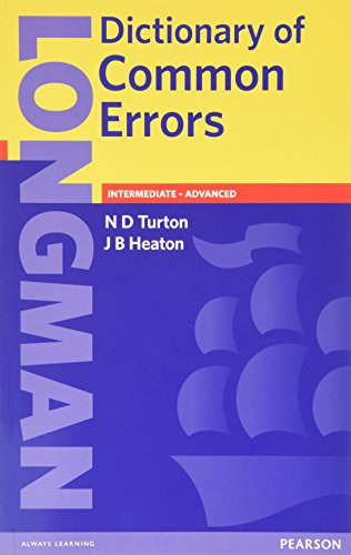 Longman Dictionary of Common Errors, 2nd Editionの詳細を見る