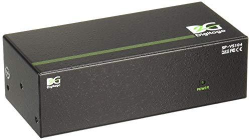 Digitogo SPシリーズ 1入力4出力VGA分配器 SP-VS104