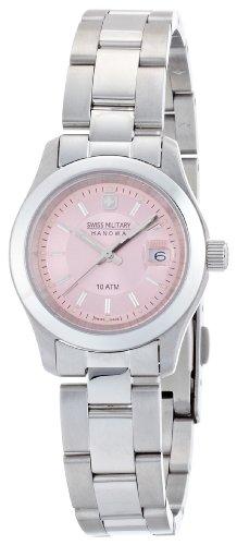 腕時計 エレガントプレミアム ML-311 レディース スイスミリタリー ハノワ