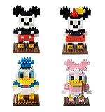 【ディズニーリゾート限定】大人気4種セット ミッキー・ミニー・ドナルド・デイジー ナノブロック