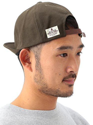 BEAMS キャップ Mighty Shine (マイティ シャイン) × BEAMS 別注 Bridge Cap New メンズ OLIVE/OD One Size