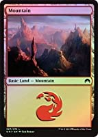 英語版フォイル マジック・オリジン Magic Origins ORI 山 Mountain (#267) マジック・ザ・ギャザリング mtg