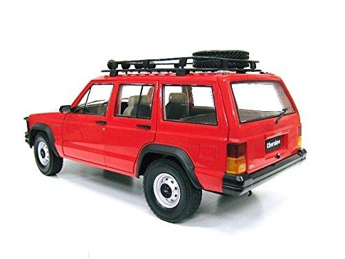 クライスラー特注 1/18 ジープ チェロキー (レッド) Jeep 限定500台