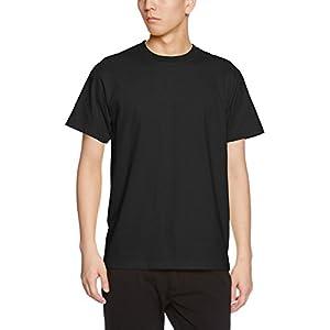 (ユナイテッドアスレ)UnitedAthle 5.6オンス ハイクオリティー Tシャツ 500101 002 ブラック L