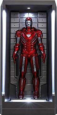 【ムービー・マスターピース COMPACT】『アイアンマン3』ミニチュア・フィギュア シリーズ2 アイアンマン・マーク33(シルバー・センチュリオン)[ホール・オブ・アーマー付き]