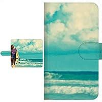 Ploom TECH プルームテック 専用 手帳型ケース 海 砂浜 波 サマー シリーズ 全面印刷 006