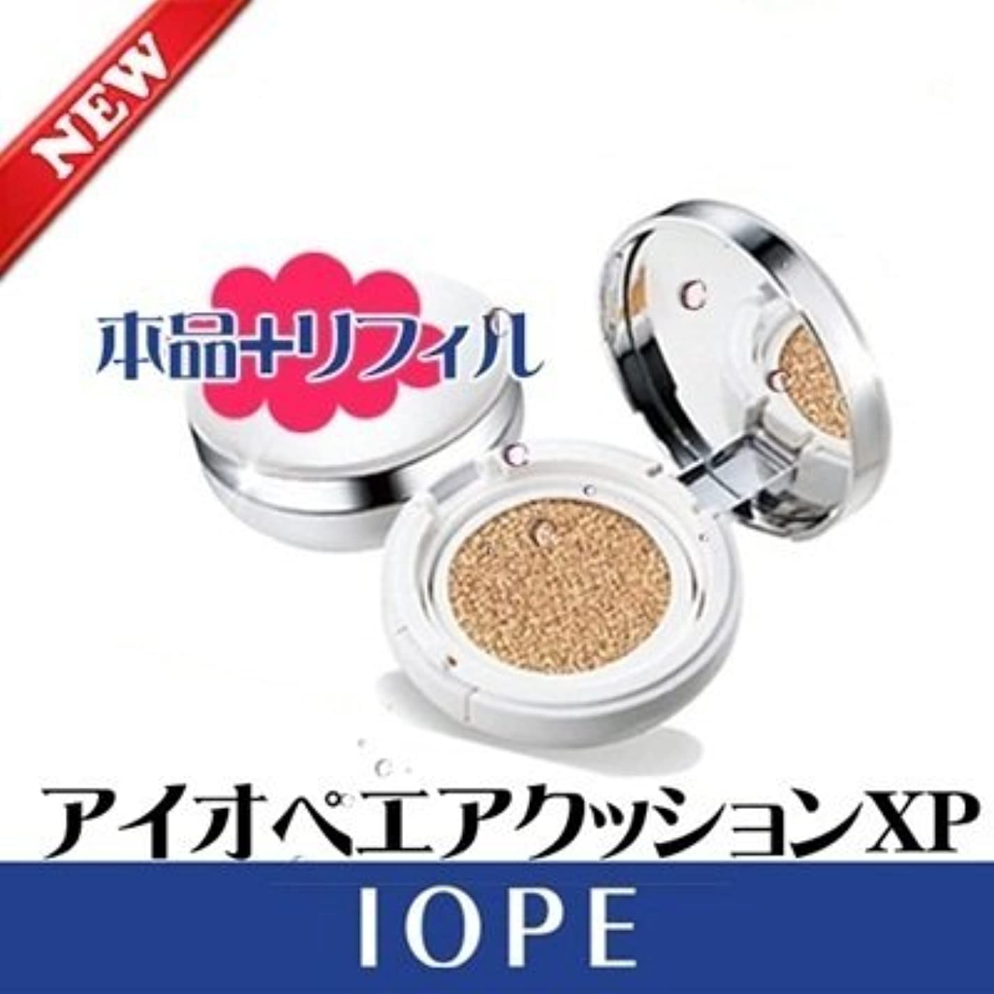 ケープ貝殻文法[韓国コスメ]IOPE[アイオペ ] エアークッション Natural XP 21号[海外直送品]