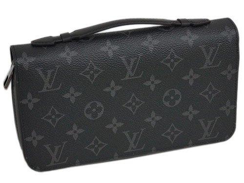 (ルイヴィトン) LOUIS VUITTON M61698 財布 ラウンドジップ長財布 メンズ モノグラム・エクリプス ジッピーXL [並行輸入品]